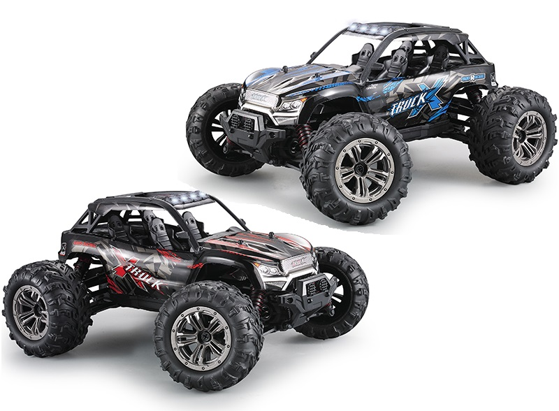 Hosim Q902 Parts RC Car, Brushless 1/16 1:16 Scale Brushless Off-Road Monster Truck car 2.4G 1:16 4WD Speed racing car Q902