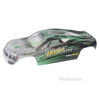 XinLeHong Toys Q903 Parts Body Shell Cover-Green,XinleHong Q903 RC Car Parts