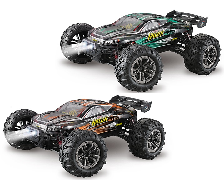 Hosim 9138 Parts RC Car, Brushless 1/16 1:16 Scale Brushless Off-Road Monster Truck car 2.4G 1:16 4WD Speed racing car 9138