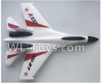 XK A100 Parts-Fuselage Body Parts-White-A100.0002.001 Parts