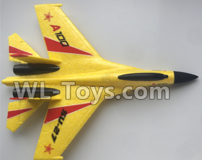 XK A100 Parts-Fuselage Body Parts-Yellow-A100.0002.002 Parts
