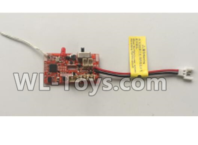 XK A100 Parts-Receiver board, Circuit board-A100.0008 Parts