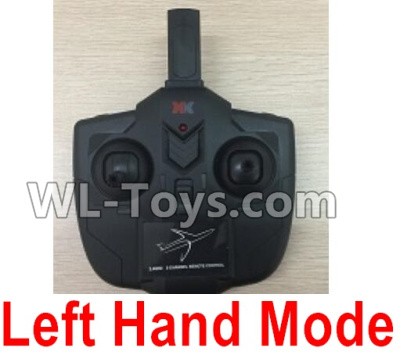 XK A100 Parts-Transmitter, Remote Control-Left Hand Mode-X4.013 Parts