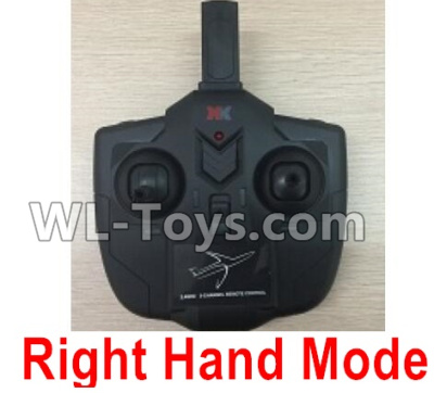 XK A100 Parts-Transmitter, Remote Control-Right Hand Mode-X4.014 Parts