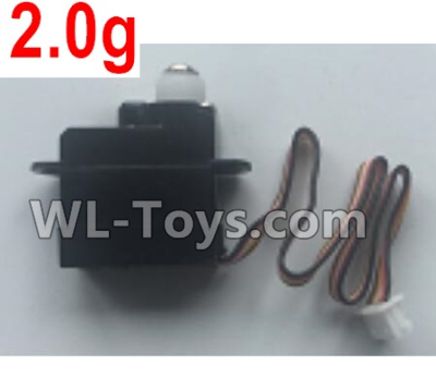 XK A100 Parts-2.0g Servo, Steering Servo Parts-A120.0010 Parts