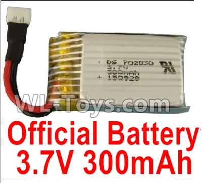 XK A100 Parts-Battery Parts-Official 3.7V 300mah Battery(1pcs)-A100.0011 Parts
