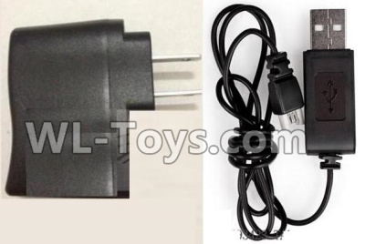 XK A100 Parts-Straight conversion plug & USB Charger Parts