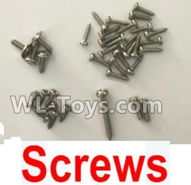XK A100 Parts-Screws set Parts
