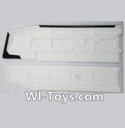 XK A1200 Parts-Main Wing(Only EPP foam, No other parts)