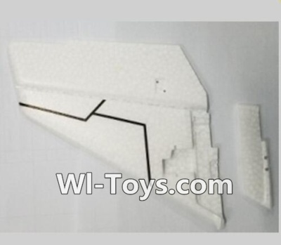 XK A1200 Parts-Vertical Tail wing(Only EPP foam, No other parts)