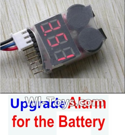 XK A1200 Parts-Upgrade Alarm for the Battery, Can test whether your battery has enough power
