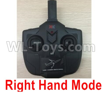 XK A130 Parts-Transmitter, Remote Control-Right Hand Mode-X4.014