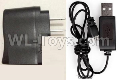 XK A130 Parts-Straight conversion plug & USB Charger