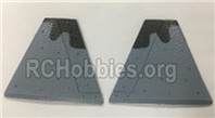 XK A180 Parts-Vertical Tail wing. Total 2pcs. A180.0002