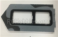 XK A180 Parts-Battery compartment cover.A180.0003