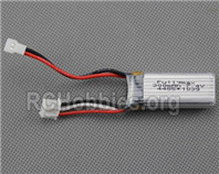 XK A180 Parts-Battery Packs, 7.4v 300mah Lipo Battery, Total 1pcs-F959.010