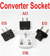 XK A180 Parts-Standard Adapter Universal Converter SockettYou can choose AU, US, EU, UK Version)