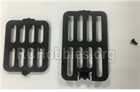 XK A180 Parts-Motherboard cover and battery cover assembly. A180.0004