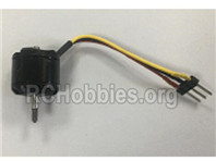 XK A180 Parts-Brushless Motor. A180.0008.7.4V 1106-9N12P-5350KV with 2.54/3P male plug. The Cable length 40mm.
