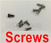 XK A180 Parts-Screws set. A180.0006