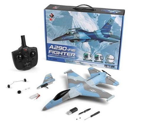 Wltoys XK A290 F16 RC Plane Toys,Wltech XKS A290 Fighter F16 RC Plane Toy Plane, RC AirPlane RC Glider.