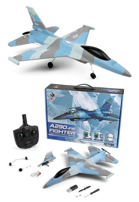Wltoys XK A290 Fighter RC Plane and Parts