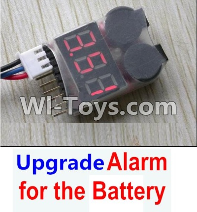 XK A430 Parts-Upgrade Alarm for the Battery, Can test whether your battery has enough power