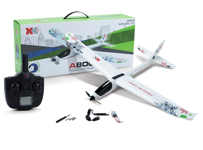 Wltoys XK A800 RC Plane and Parts