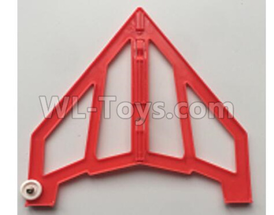 XK X420 Parts-Right Vertical Tail Wing Se Partst-Red-X420.0005