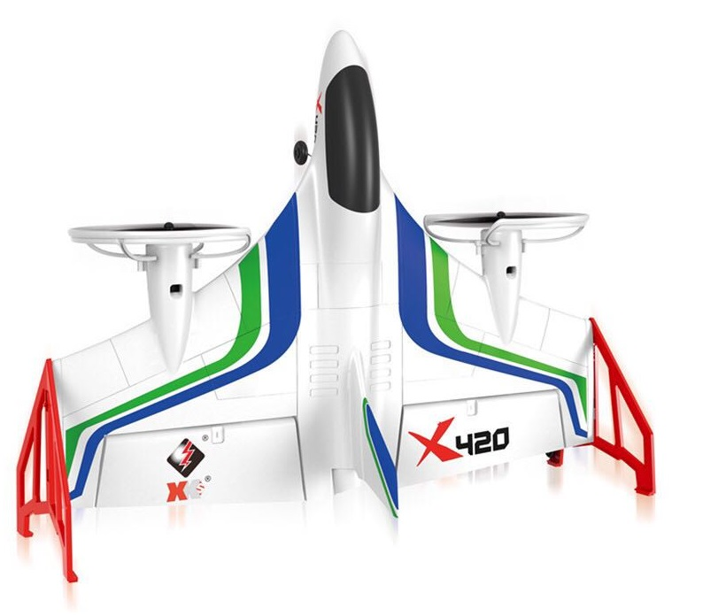 Wltoys XK X420 Simulator RC Plane and Parts