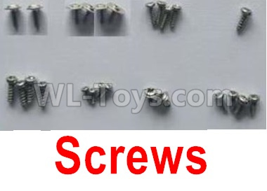 XK X420 Parts-Screws set X420.0014