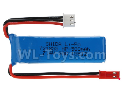 XK X420 Parts-simulator Battery 7.4V 500mAh 20C 701850(1pcs)-X420.0016