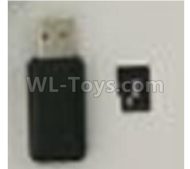 XK X420 Parts-USB Reader and 4GB Memory Card X520.0020