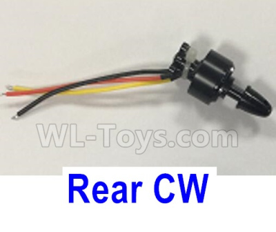 XK X450 Parts-Brushless motor(the Rear CW Motor)-7.4V 1307 CW 2000KV,  line length-50mm Parts-X450.0008