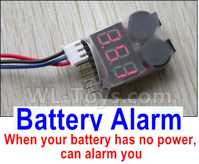 XK X450 Parts-Battery Alarm(When your battery has no power, can alarm you)