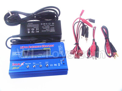 XK X450 Parts-Upgrade B6 Balance charger and Power Charger unit(Can charger 2S 7.4v or 3S 11.1V Battery)