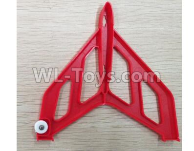 XK X520 Parts-Right Vertical Tail Wing Set-Red-X520.0004