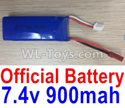 XK X520 Parts-Battery, 7.4V 900mah Battery(1pcs)-X520.0013