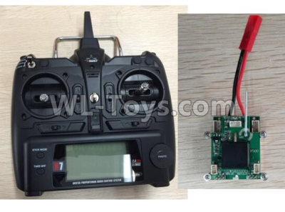 XK X520 Parts-X8 Big Version Transmitter and Circuit board Together-X520.0014