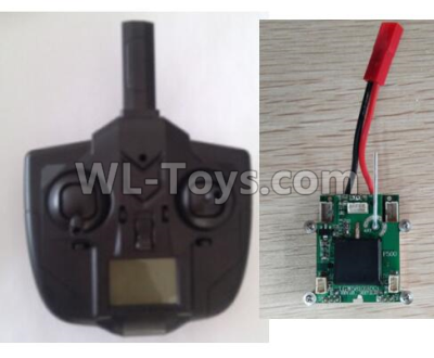 XK X520 Parts-X4 Small Version Transmitter and Circuit board together-X520.0015-01