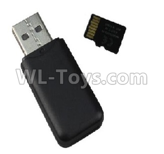 XK X520 Parts-Reader and 4GB Memory card-X520.0020 USB