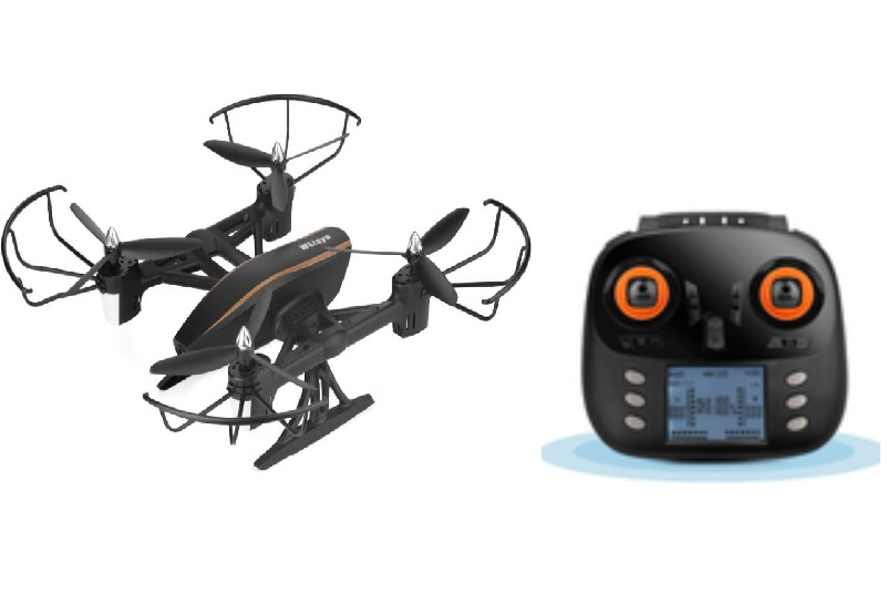 Wltoys Q373-B Wifi Quadcopter(Include the Wifi Camera unit and Mobile phone support frame) Wltoys-Quadcopter-all