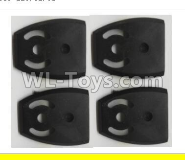 Wltoys Q373 Q373-B-E-C Drone Parts-Lower motor Seat Parts cover(4pcs),Wltoys Q373 Parts