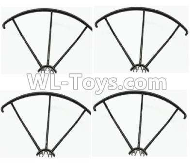 Wltoys Q373 Q373-B-E-C Drone Parts-Outer protect frame(4pcs),Wltoys Q373 Parts