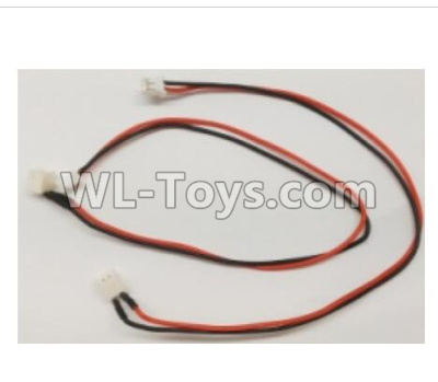 Wltoys Q373 Q373-B-E-C Drone Parts-Red black motor line set,Wltoys Q373 Parts