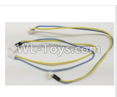 Wltoys Q373 Q373-B-E-C Drone Parts-Yellow Blue Motor Line Group,Wltoys Q373 Parts
