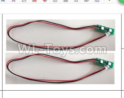 Wltoys Q373 Q373-B-E-C Drone Parts-Front light panel,Wltoys Q373 Parts