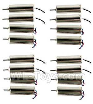 Wltoys Q676 Main motor with Black and White Wire(8pcs-(CW) & Main motor with Red and Blue wire(8pcs-CCW),Wltoys Q676 Parts