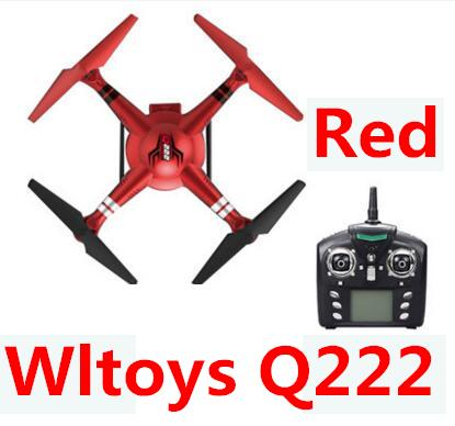 Wltoys Q222 Drone Parts-Quadcopter-Red(Not include the Camera unit),Wltoys Q222 Drone Parts-RC Drone