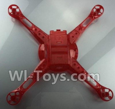 Wltoys Q222K Q222G Drone Parts-the Bottom shell cover-Red,Wltoys Q222K Q222G Parts